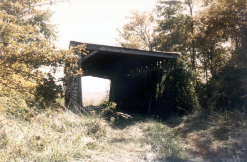 Covered Bridge from behind